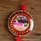 普洱茶 橙皮味熟茶 布朗山春茶发酵 200克中国结竹篓装小沱茶批发