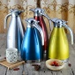 不锈钢内胆真空保温暖瓶热水便携茶壶家用咖啡商用壶定制颜色印字