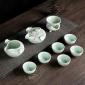 龙泉青瓷茶具套装 铁观音泡茶壶茶杯