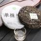 2017年纯料新单株班章古树茶普洱茶生茶饼 云南七子饼茶叶 200克