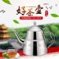 食品级304不锈钢水壶 电磁茶炉茶台烧水壶功夫泡茶壶 平底壶