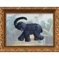 供应古树飘香 茶雕挂画 艺术大象 室内装饰品 商务礼品挂件