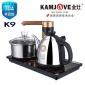 金灶K9全智能自动上水壶一键煮水不锈钢电热茶壶茶艺炉茶具